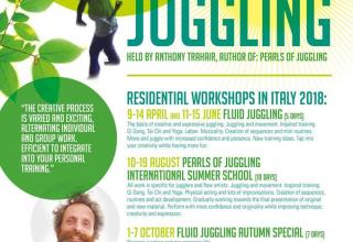 Fluid Juggling Autumn Special Intensive Workshop in Italy